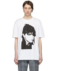 CALVIN KLEIN 205W39NYC ホワイト Stephen Sprouse T シャツ