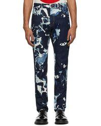 Blue Blue Japan Blue Kago Bassen Jeans