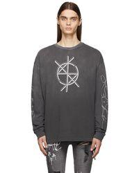 Ksubi Cryptic biggie T-shirt - Grey