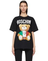 Moschino - ブラック Italian Teddy Bear T シャツ - Lyst
