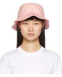 Acne Studios Chapeau rose Face