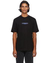 Carhartt WIP T-shirt noir Neon Script