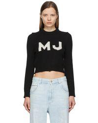 Marc Jacobs ブラック The Shrunken セーター