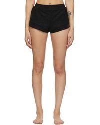 Oséree Black Lumiere Shorts