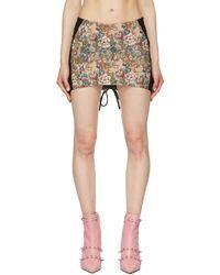 Miaou Multicolour Corset Skirt
