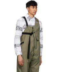 Engineered Garments K-way エディション カーキ Kayden 3.0 ベスト バッグ - マルチカラー