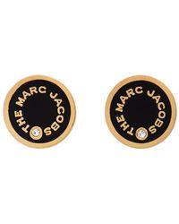 Marc Jacobs The Medallion Studs Earrings - Black