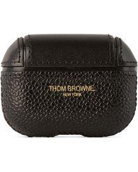 Thom Browne ブラック レザー Airpods Pro ケース