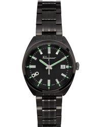 Ferragamo ブラック Evolution 腕時計