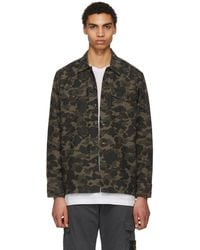 Levi's - Multicolor Camo Military Jacket - Lyst