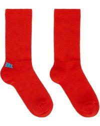 ERL Red & Blue Logo Socks