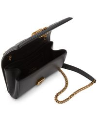 Dolce & Gabbana - ブラック スモール Devotion バッグ - Lyst