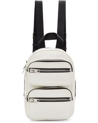 Alexander Wang Medium Attica Backpack - White