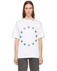 Etudes Studio - White Wonder Europa T-shirt - Lyst