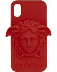 Versace - レッド メドゥーサ Iphone X ケース - Lyst