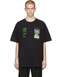Off-White c/o Virgil Abloh - ブラック Pascal Painting Over T シャツ - Lyst