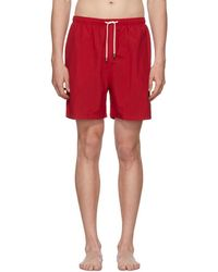 Solid & Striped - Red Classic Swim Shorts - Lyst