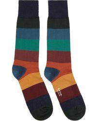 Paul Smith Multicolor Ian Stripe Socks