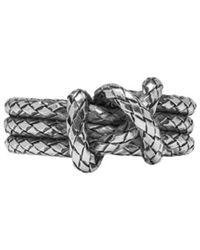 Bottega Veneta | Silver Knot Ring | Lyst