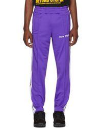 Palm Angels - Purple Classic Track Pants - Lyst