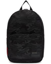 DIESEL - Camouflage Effect Backpack - Lyst