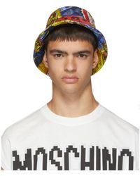 Moschino Multicolor Printed Bucket Hat