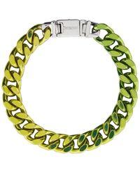 Jacquemus Green La Gourmette Bracelet