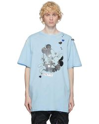 99% Is T-shirt bleu Love In The Dark