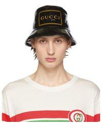 Gucci - ブラック Montecarlo クリスタル バケット ハット - Lyst