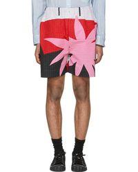Craig Green - Multicolor Acid Desert Island Elasticized Shorts - Lyst