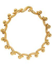Loewe ゴールド Drop Chain ネックレス - メタリック