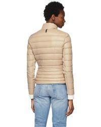 Mackage Ssense Exclusive Beige Down Lightweight Reema Puffer Jacket - Natural