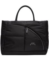 A_COLD_WALL* * Black Nylon Puffer Tote