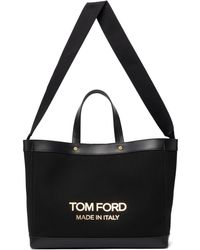 Tom Ford ブラック スモール ショッピング トート
