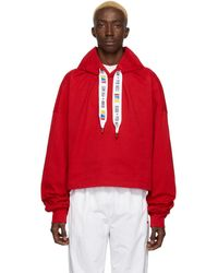 REEBOK X PYER MOSS Red Collection 3 Jersey Hoodie