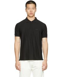 DIESEL ブラック T-smith-b2 ポロシャツ