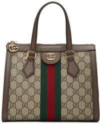 Gucci Cabas Ophidia GG petite taille - Vert
