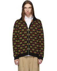Gucci - ブラック GG スター セーター - Lyst