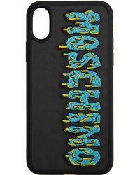 Moschino ブラック Monster ロゴ Iphone X/xs ケース