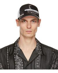 Dolce & Gabbana ブラック 迷彩 Print キャップ