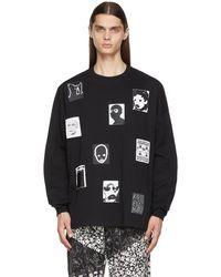 Kidill Jesse Patch Long Sleeve T-shirt - Black