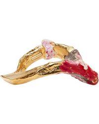 Acne Studios - Gold Aggy Bracelet - Lyst