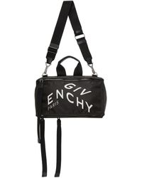 Givenchy Black Pandora Refracted Logo Bag