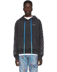 Off-White c/o Virgil Abloh Black Abstract Arrows Hoodie