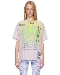 Maisie Wilen ピンク & グレー Lunar T シャツ