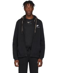 1017 ALYX 9SM - Pull a capuche et glissiere noir Double Hood edition Nike - Lyst