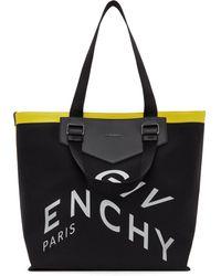 Givenchy ブラック キャンバス Antigona トート