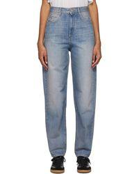Étoile Isabel Marant Blue Corsy Jeans