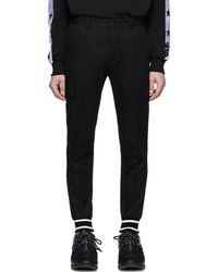 Dolce & Gabbana - ブラック カフ カーゴ パンツ - Lyst