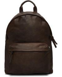 Officine Creative Brown Oc Backpack